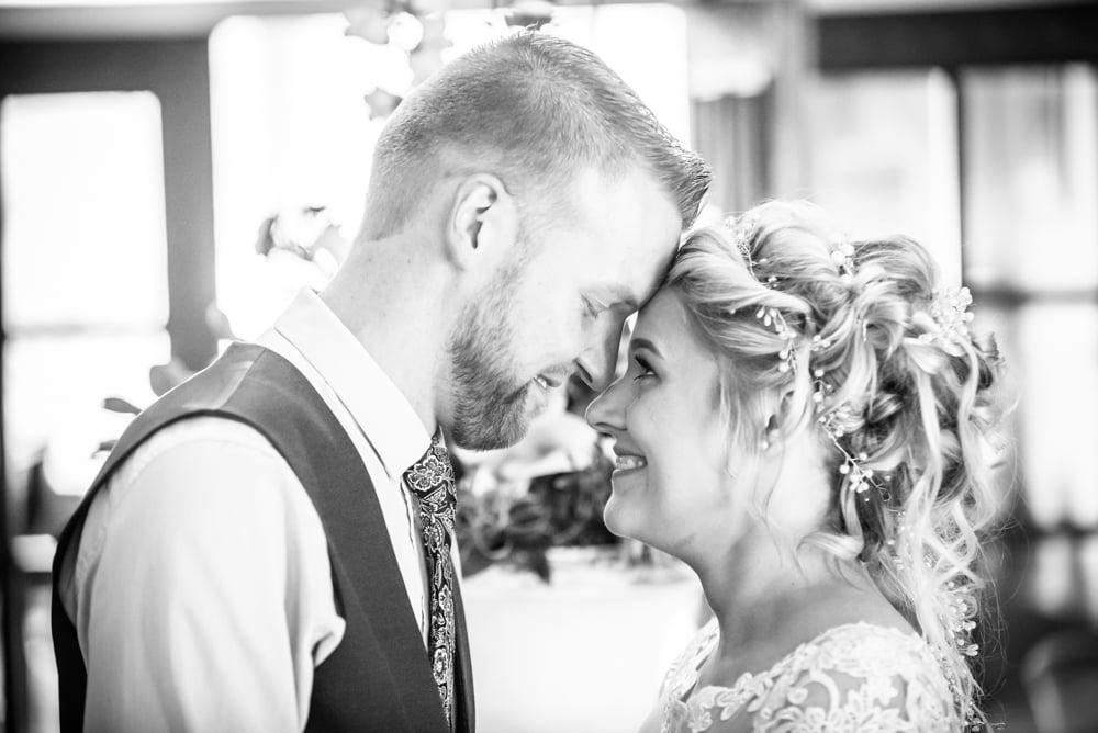 Posing in bridal suite, Inn on the Lake Weddings, Lake District