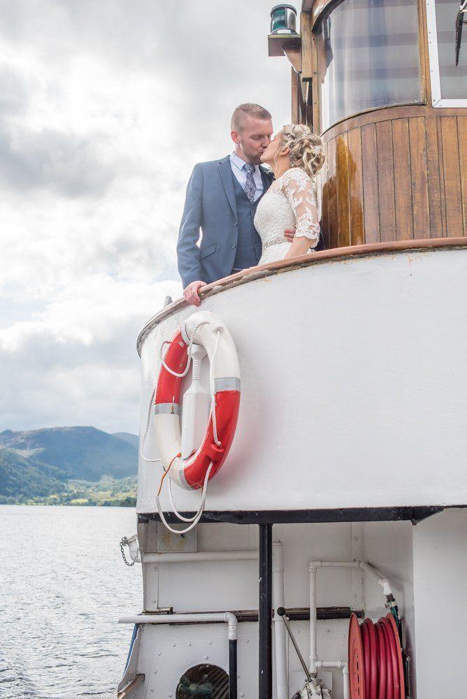 Ullswater steamer for weddings, Inn on the Lake Weddings, Lake District