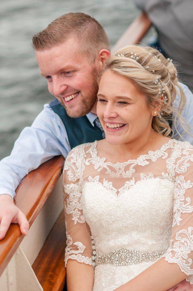 Taking 5 on the boat, Inn on the Lake Weddings, Lake District