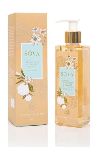 Coorgi Narangi & Chamomile Body Wash For Normal to Dry Skin by SOVA