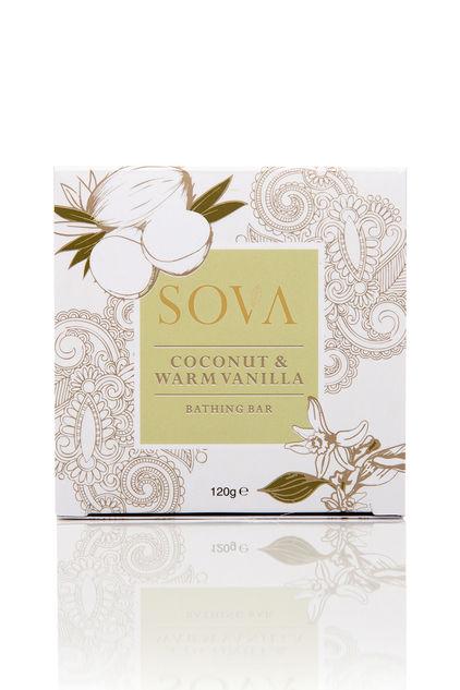 Warm Vanilla & Coconut Bathing Bar by SOVA