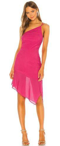 Revolve Hot Pink Cocktail Dress