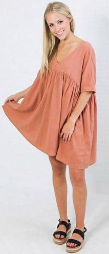 Listicle Babydoll Dress