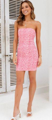 Hello Molly Pink Bodycon Dress