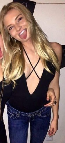 Charlotte Russe Black Bodysuit