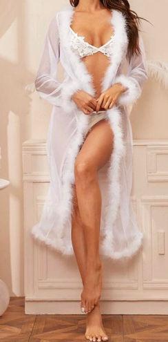 SheIn Sheer Robe