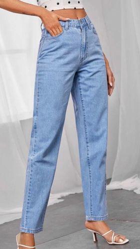 SheIn High Rise Mom Jeans