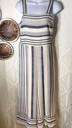 Japna NWOT  striped jumpsuit