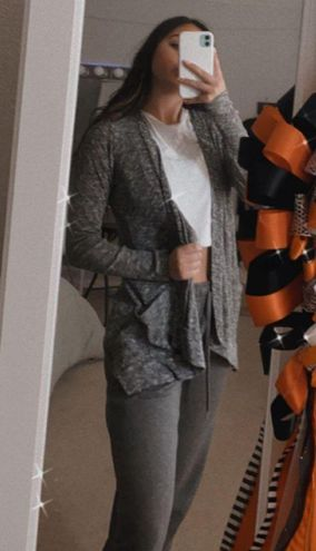 Candie's Gray Cardigan Sweater