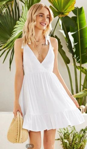SheIn White Dress