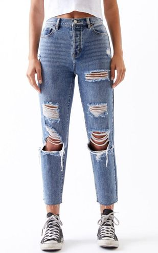 PacSun High Rise Ripped Jeans