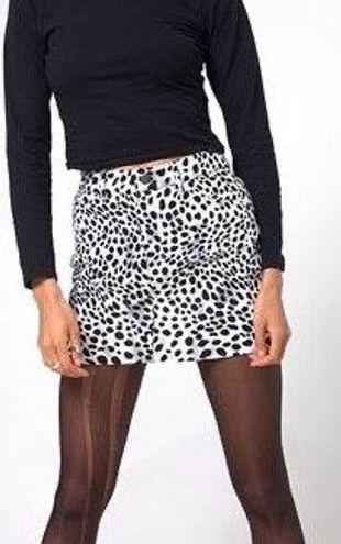 Princess Polly Dalmatian Print Mini Skirt NWOT