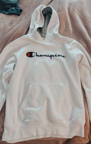Champion White  Hoodie!!