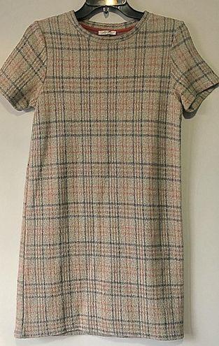 ZARA Mini Plaid Dress Small