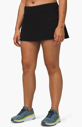 Lululemon Pace Rival Black Skirt