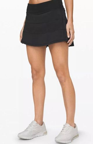 Lululemon Black Pace Rival Skirt Tall