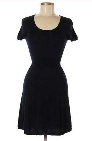 Uniqlo Black Short Sleeve Knit