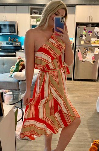 VICI One Shoulder Maxi Dress