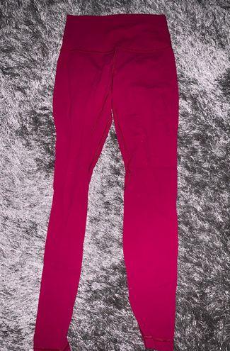 """Lululemon Berry Pink Align 28"""" Leggings"""