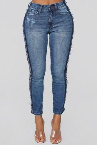 Fashion Nova Bogging It Up High Rise Boyfriend Jeans