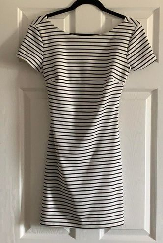B Darlin Striped Dress