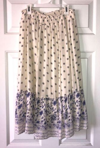 Old Navy long floral skirt