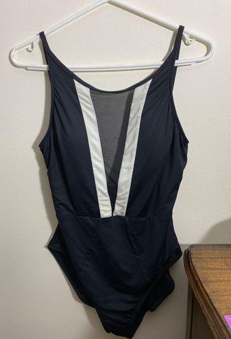 La Blanca High-Neck One Piece Swimsuit