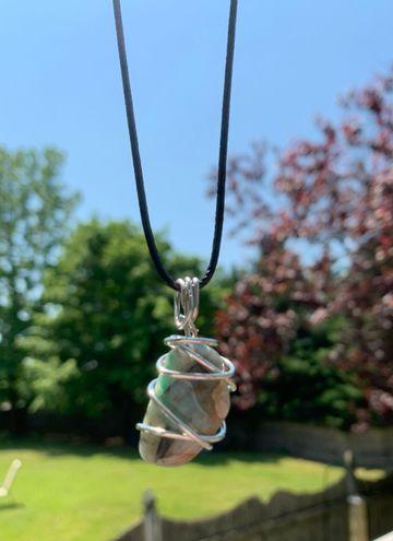 Handmade Chrysocolla Necklace