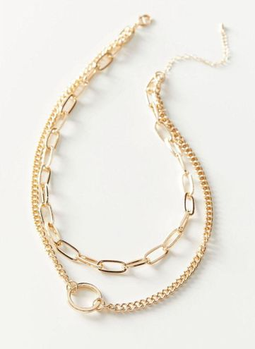 Urban Outfitters sophia chain necklace
