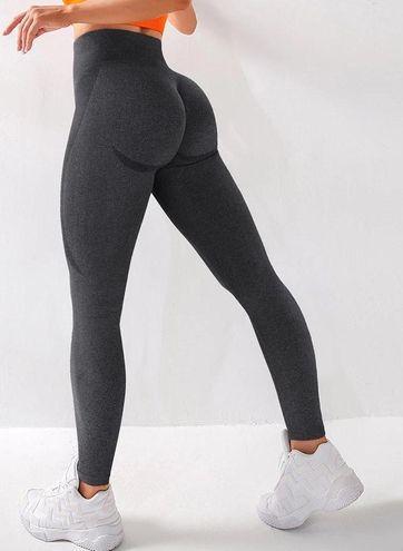 Black Marl Leggings - XL