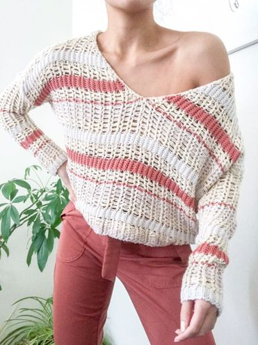 Urban Outfitters Open Knit Boxy Sweater Coverup
