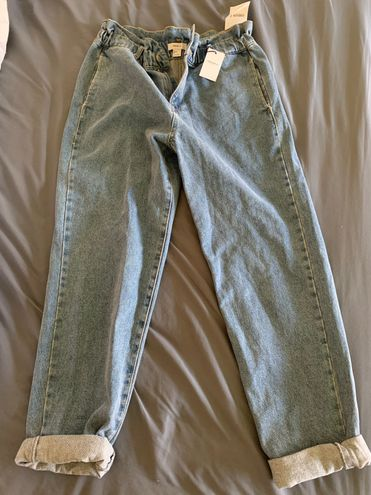 Forever 21 High Waisted Mom Jeans
