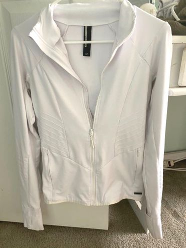 Mondetta White Athletic Jacket