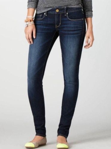 American Eagle Outfitters AEO | Dark wash skinny jeans. 🦋