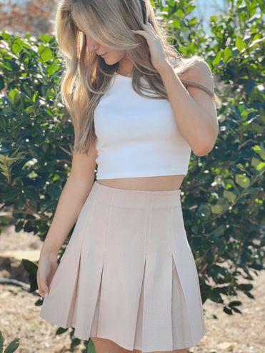 Le lis  Plaid Tennis Skirt