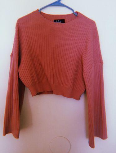Lulus pink sweater