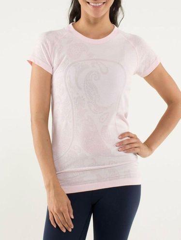 Lululemon Pink Swiftly Tech Shirt