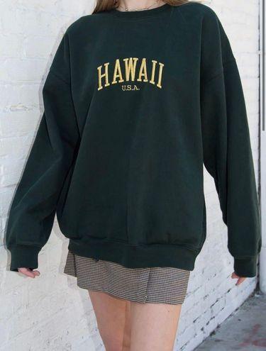 Brandy Melville erica hawaii sweatshirt