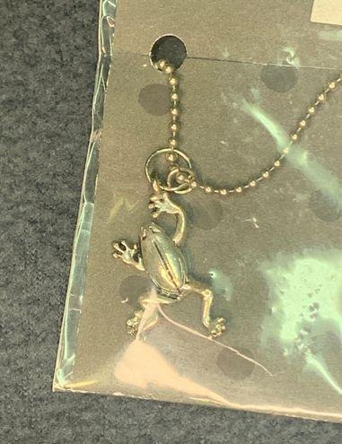 Super Adorable Frog Necklace