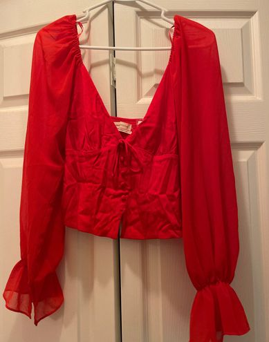 Urban Outfitters Silk Corset Top