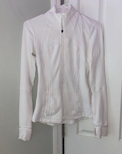 Lululemon White Full Zip Jacket