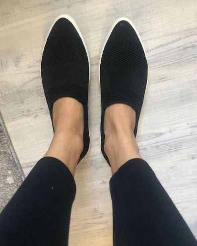 Skechers Black Slip On Shoe
