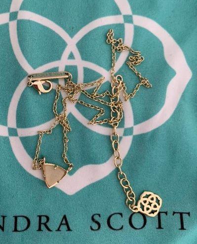 Kendra Scott Iridescent Drusy Necklace