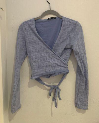 Brandy Melville John Galt Black Wrap Skirt