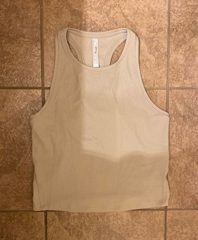 Athleta tan tank top