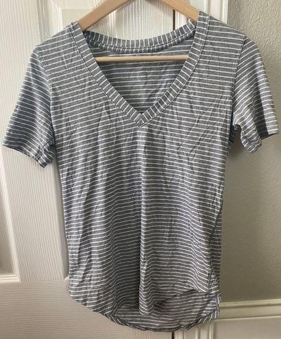 Lululemon Striped Athletic T-shirt