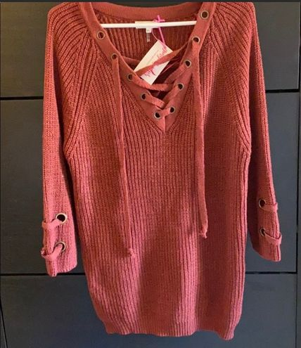 Miracle USA Sweater Dress Sz M/L