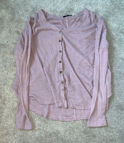 Out From Under sweater button down