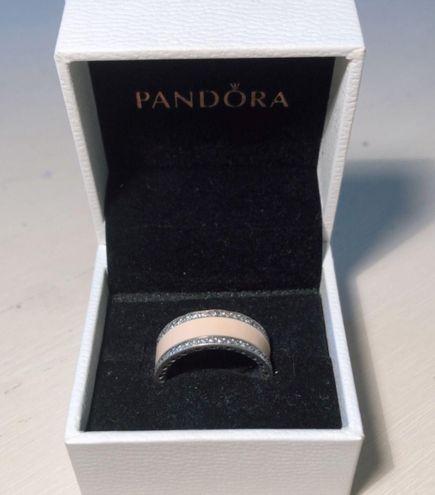 Pandora Chunky Silver Ring