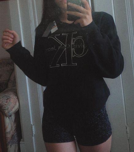 Calvin Klein Black Crew Neck Sweatshirt